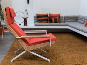 Rob Parry Design Stoel Rood woonkamer