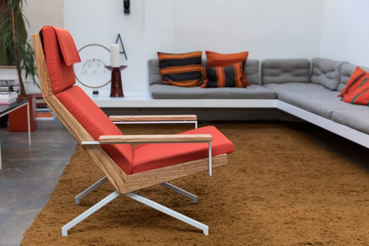 Design Stoel Woonkamer.Rob Parry Original Vintage Fauteuil Sixties Retro Rood Sixty Fruits