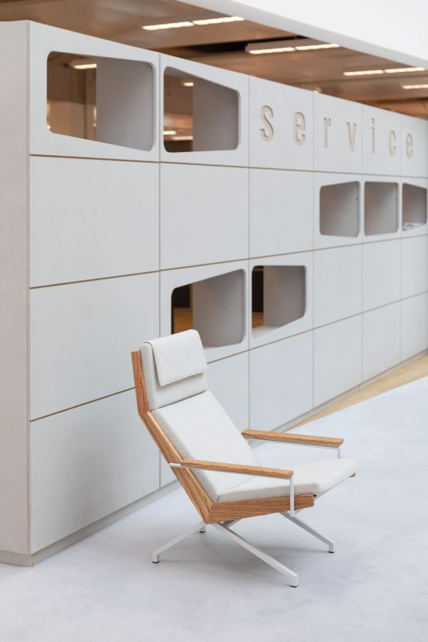 Rob Parry design stoel kantoor inrichting